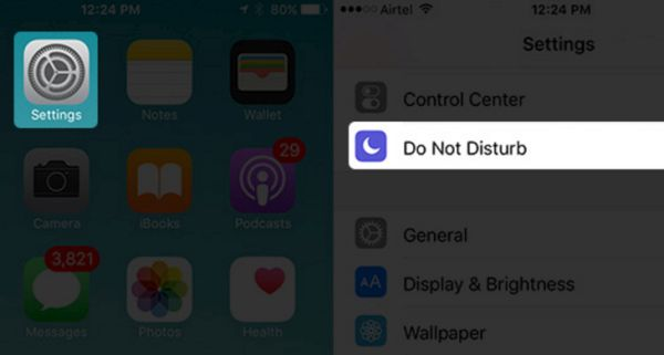 Do Not Disturb iPhone 7 Feature
