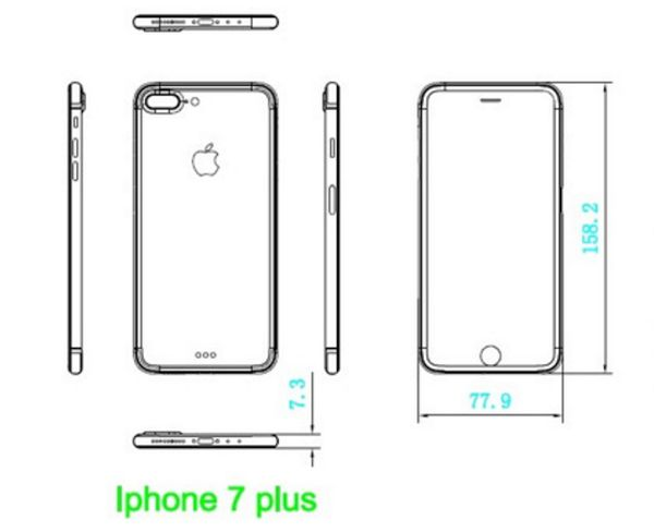iPhone 7 Leaked Schematics Rumors Design