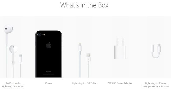 iPhone 7 What's in the Box Guide