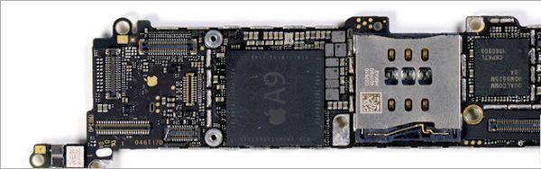 iPhone SE A9 processor