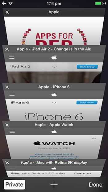 iPhone Unlimited Safari Tabs iOS 9 Jailbreak Tweak