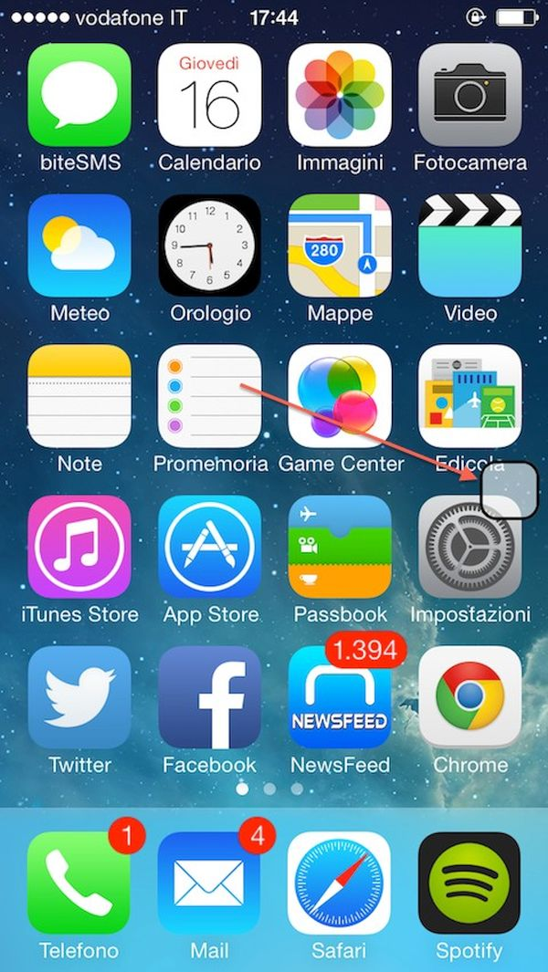 iPhone Virtual Home Button iOS 9