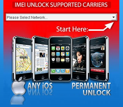 imei unlock iphone 4