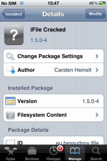 install ifile for free 002