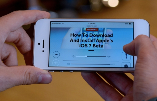 Install iOS 7 Beta 2 No UDID
