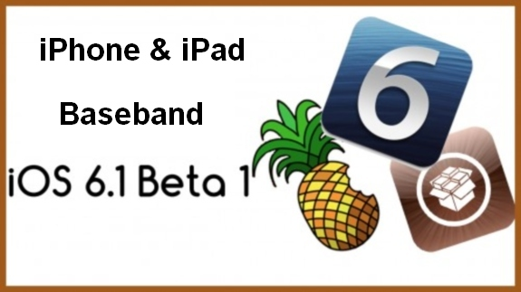 ios 6.1 beta 1 baseband
