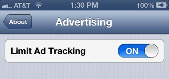 iOS 6 Advertising Identifier