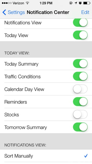Traffic iOS 7 Beta 2