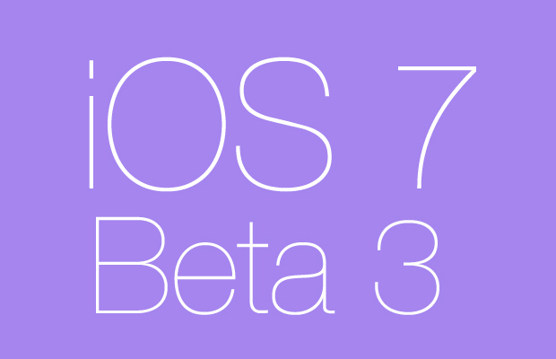 ios 7 beta 3 unlocking