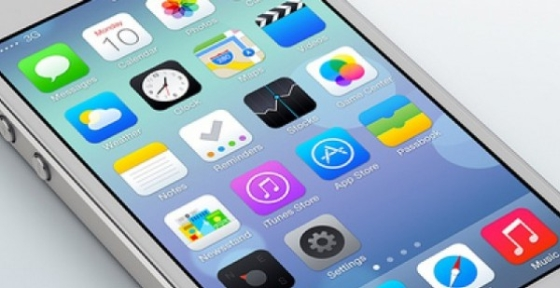 iphone with iOS 7
