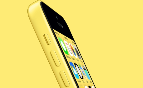 iPhone 5C in Yellow