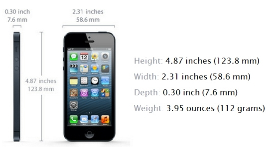 iphone 5 dimensions iphone 5 features what you must about the new 10980