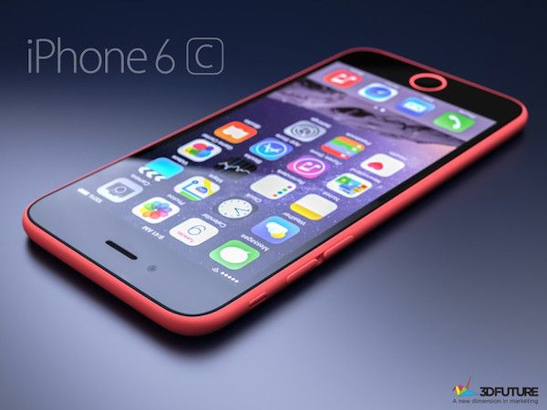iPhone 6c 3D Renders