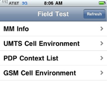 iphone Field test