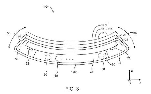 iPhone Bendable Patent