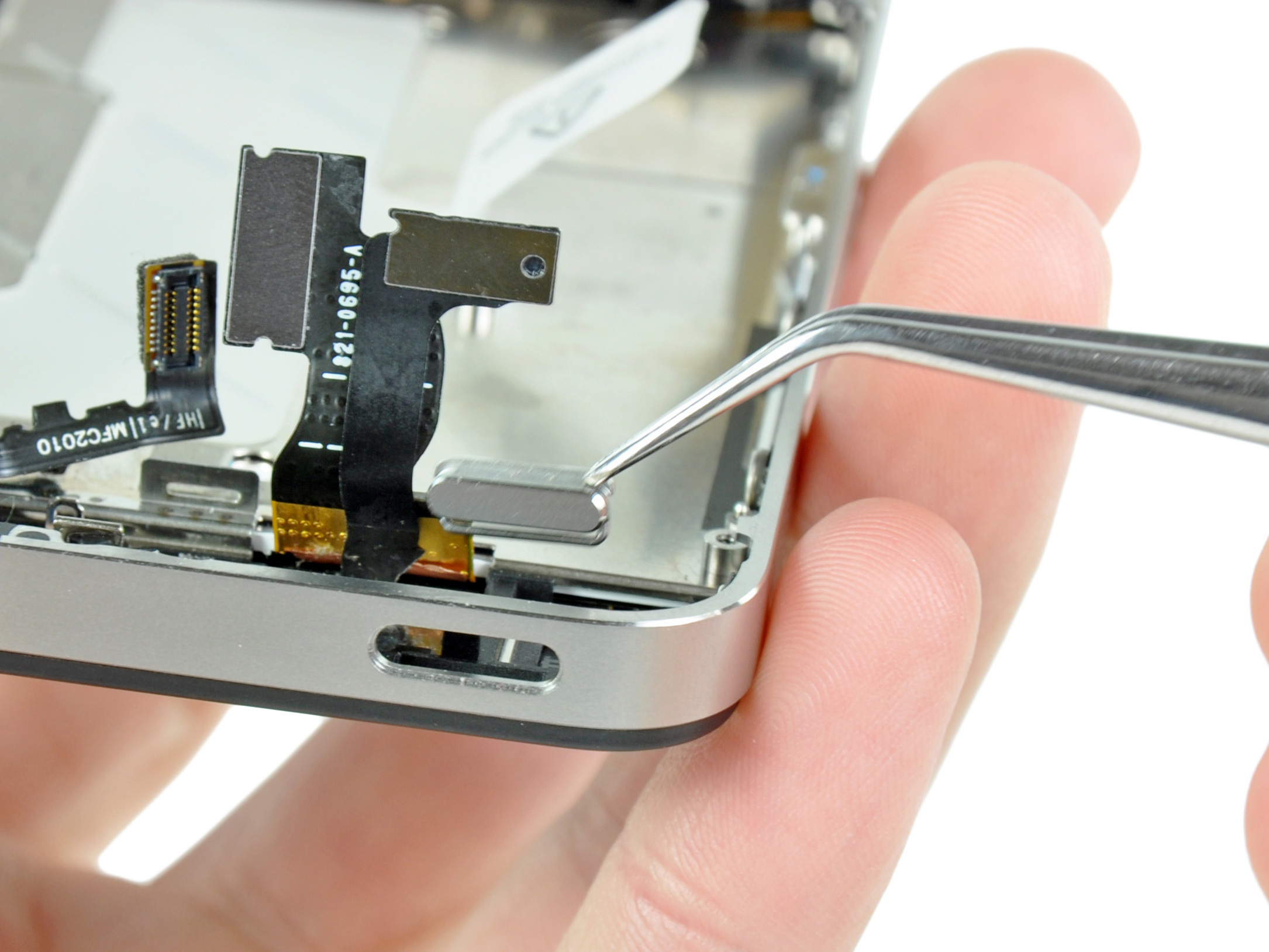 iPhone broken power button
