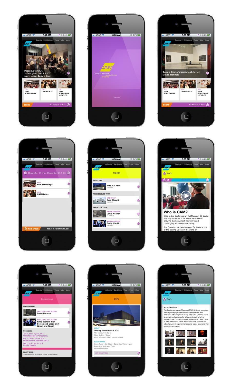iphone museum tour app
