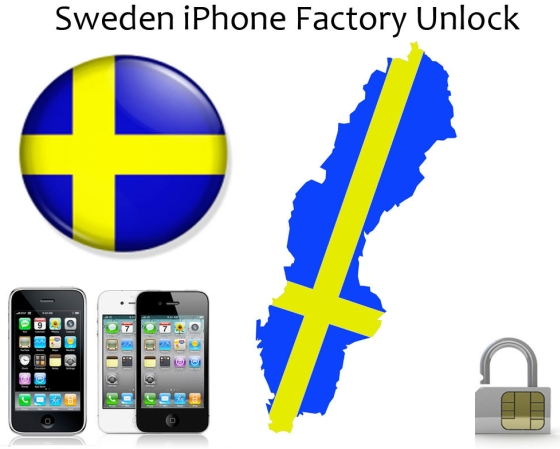 iPhone 3 Sweden Unlock