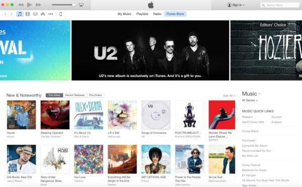iTunes 12 release