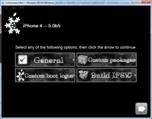 jailbreak iOS 5.1 using Sn0wbreeze 2.9.3