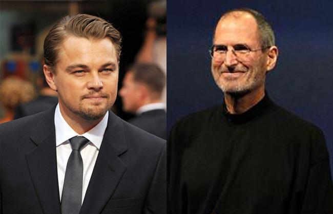 Leonardo DiCaprio as Steve Jobs