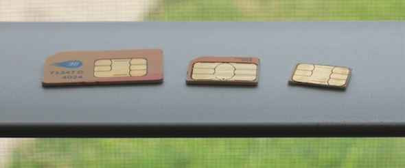 turn micro sim into nano sim iphone 5