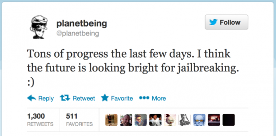 iOS Jailbreaking Status