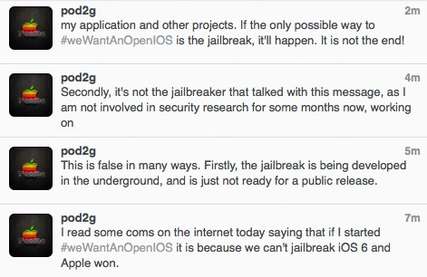 pod2g about ios 6 jailbreak