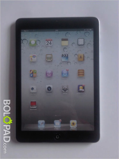 real iPad Mini images
