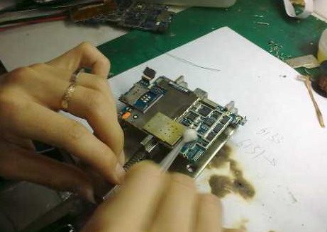 replace iPhone 3G,GS baseband chip 3