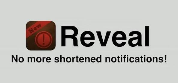 reveal cydia app