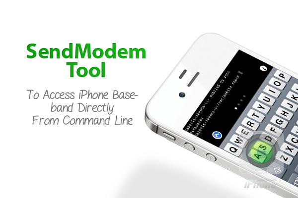 sendmodem iphone AT tool