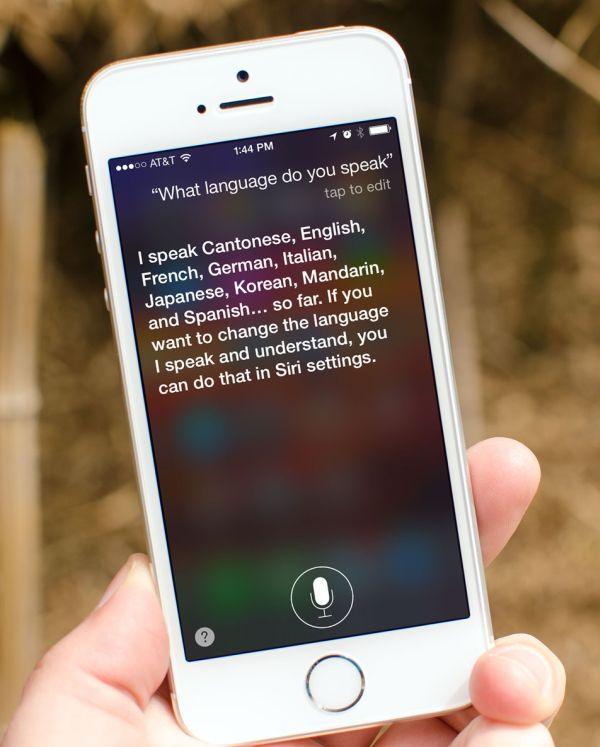siri language change