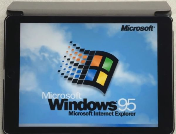 Windows 95 Installation on iPad Step 12