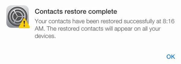 Restore Lost iCloud Files