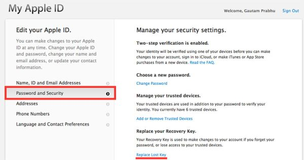 forgot apple id password