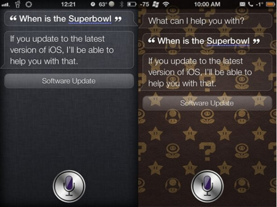 Superbowl and Siri Assistance