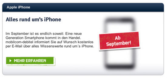 iPhone 5 sales
