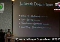 Corona Jailbreak HITB Video