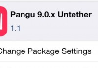 Download Pangu Untether Package Update iOS 9 on Cydia