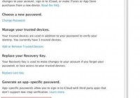 Setup APP Specific Passwords For iCloud | Userguide