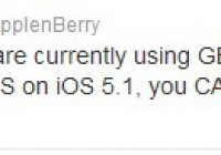 Gevey Ultra S To Unlock iPhone 4S iOS 5.1.1