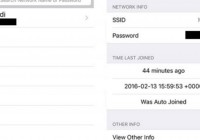 Show WiFi Password iPhone Guide for Saved Networks