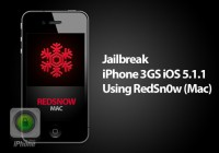 Jailbreak iPhone 3GS iOS 5.1.1 Using Redsn0w (Mac)