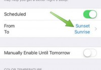 How to Set iPhone Night Shift Mode to Automatically Switch On and Off