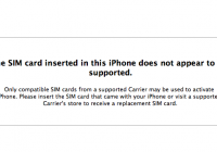 SIM Card Not Supported Error Fix [SAM unlock]