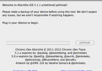 Absinthe 2.0 iOS 5.1.1 Untethered Jailbreak Tutorial (Windows/Linux/Mac)