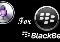 BlackBerry Siri Alternative Coming this Fall
