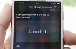 Siri Charge iPhone Request Will Call the Police