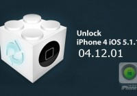 Unlock iPhone 4 04.12.01 iOS 5.1.1